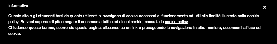 privacy cookie iubenda ITA