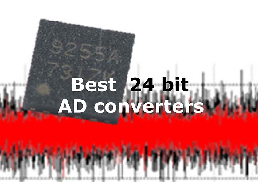 Best 24 bit ADC converters - featured
