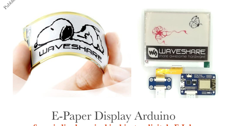 E-Paper-Display-Arduino