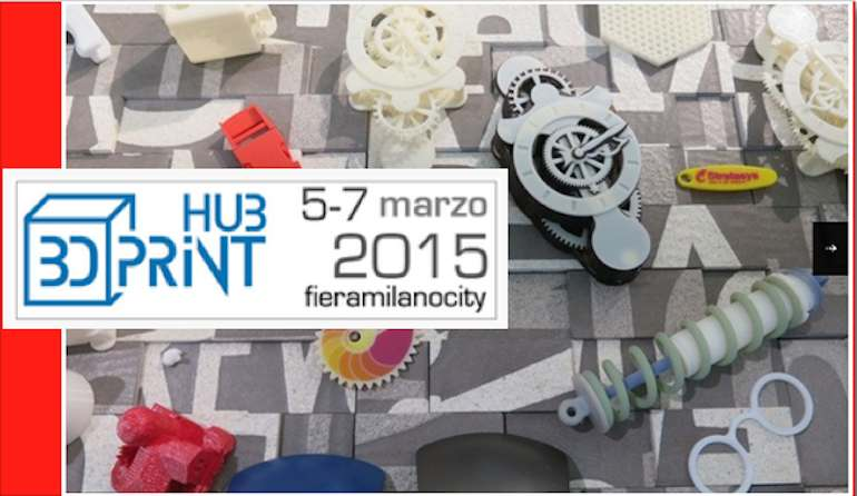 screenshot fiera 3D print hub