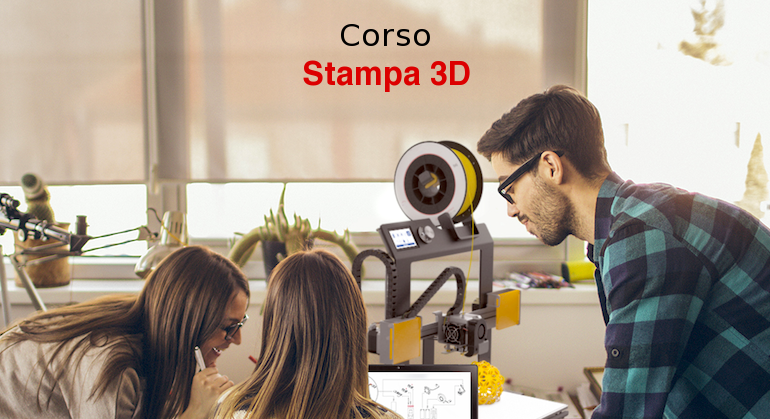 Corso stampa 3D - Rosso3D